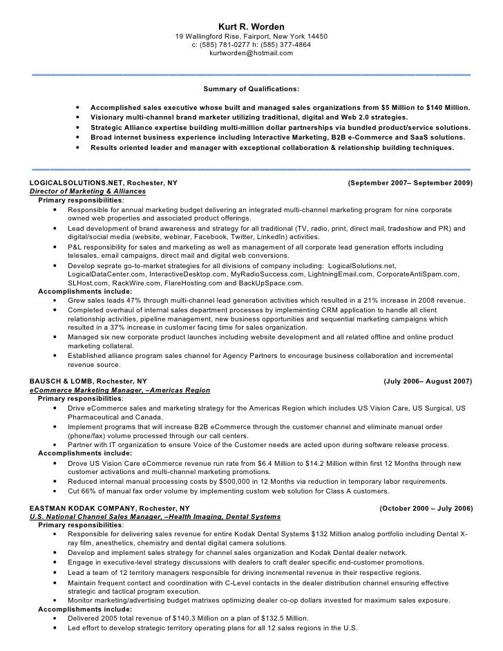Resume Sample For Job Promotion