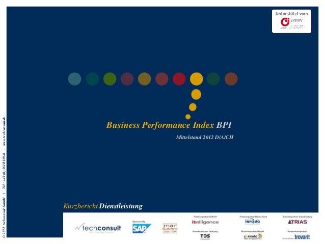 www.techconsult.de                                           Business Performance Index BPI                               ...
