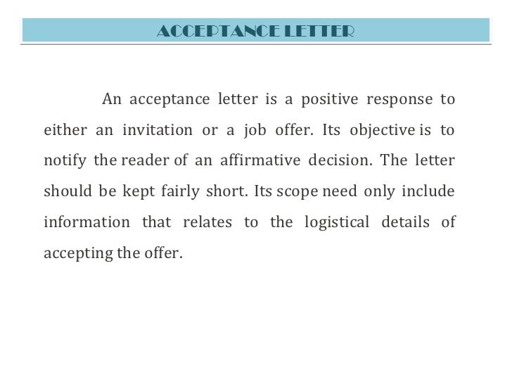 Job Offer Letter Email - Offer Acceptance Email 73 Job Template