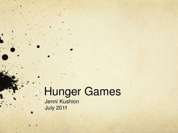 Heidi prebys's the hunger games book report
