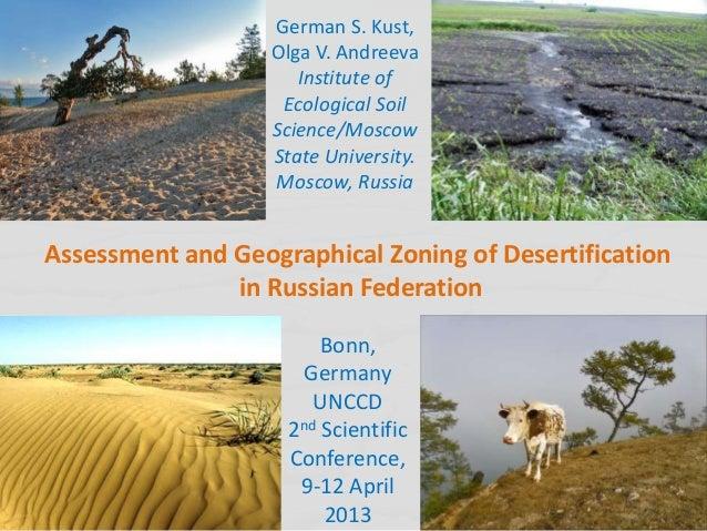 German S. Kust,                   Olga V. Andreeva                      Institute of                    Ecological Soil   ...