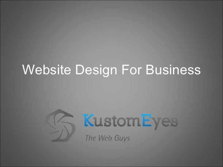 Website Design for Business