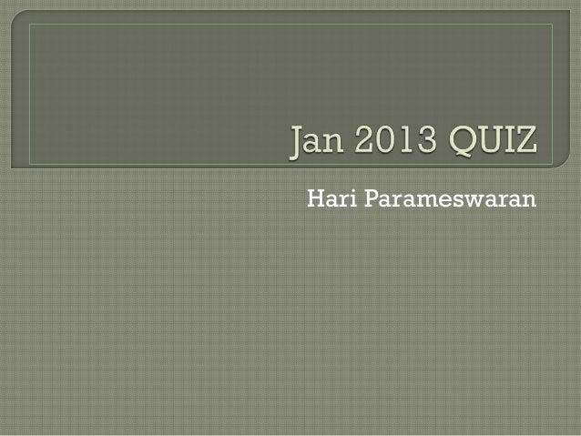 Hari Parameswaran