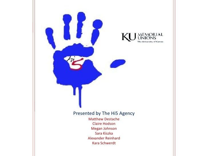 KU Memorial Unions Plansbook