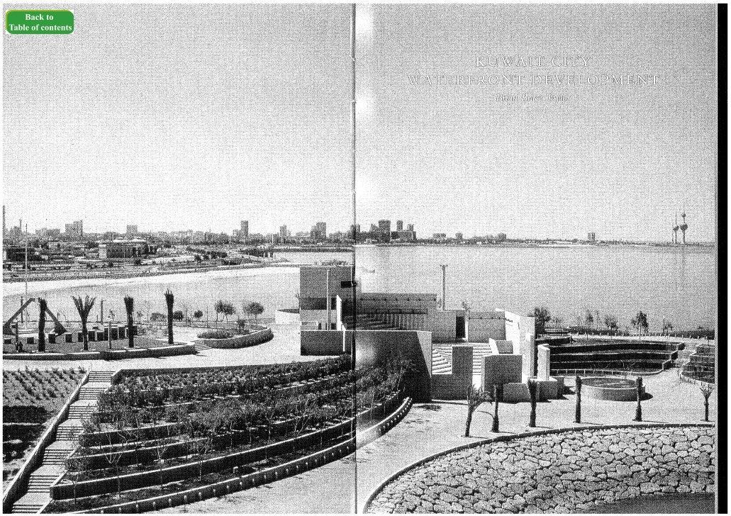 Kuwait - city waterfront development