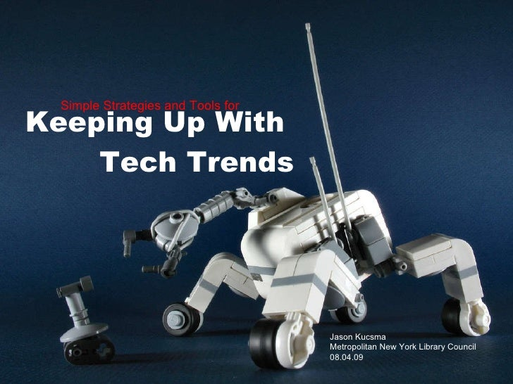 Keeping Up With Technology Trends for Librarians