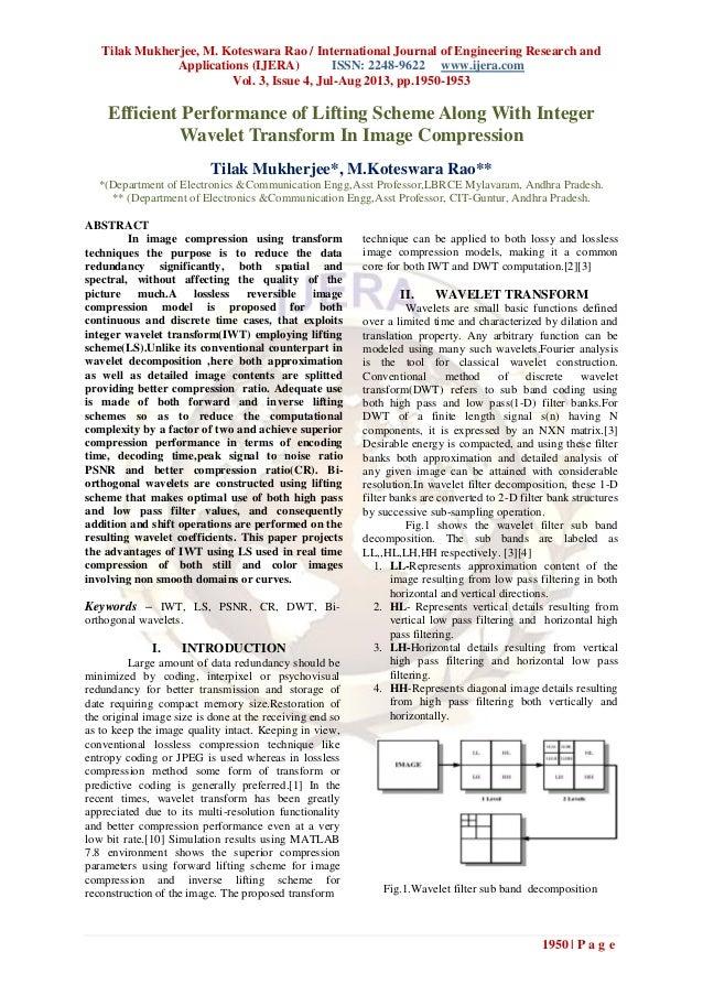 Tilak Mukherjee, M. Koteswara Rao / International Journal of Engineering Research and Applications (IJERA) ISSN: 2248-9622...