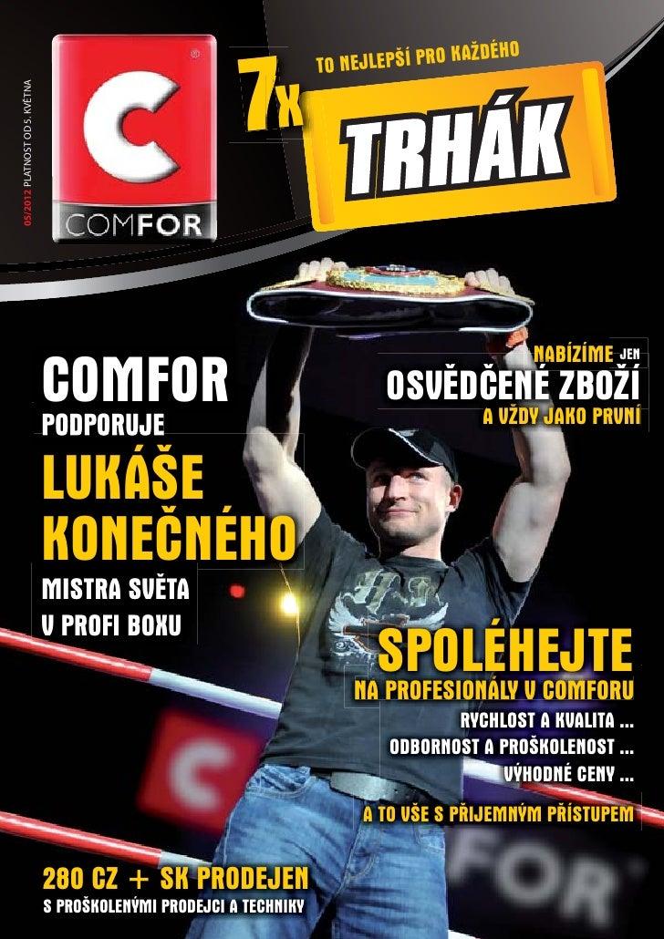 Comfor katalog květen 2012