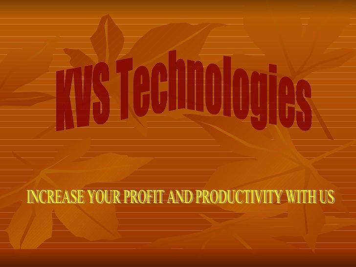 Kvs Company Overview 28082011
