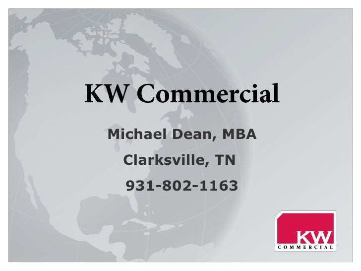 Michael Dean, MBA Clarksville, TN  931-802-1163