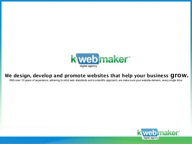 We design, develop and promote websites that help your business                                                           ...