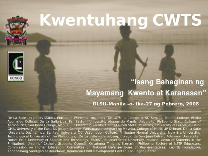 Kwentuhang CWTS Overview