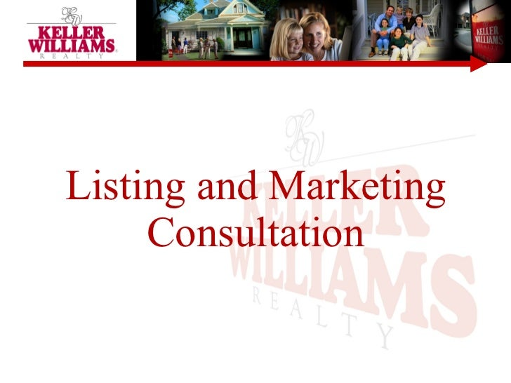 Listing and Marketing Consultation