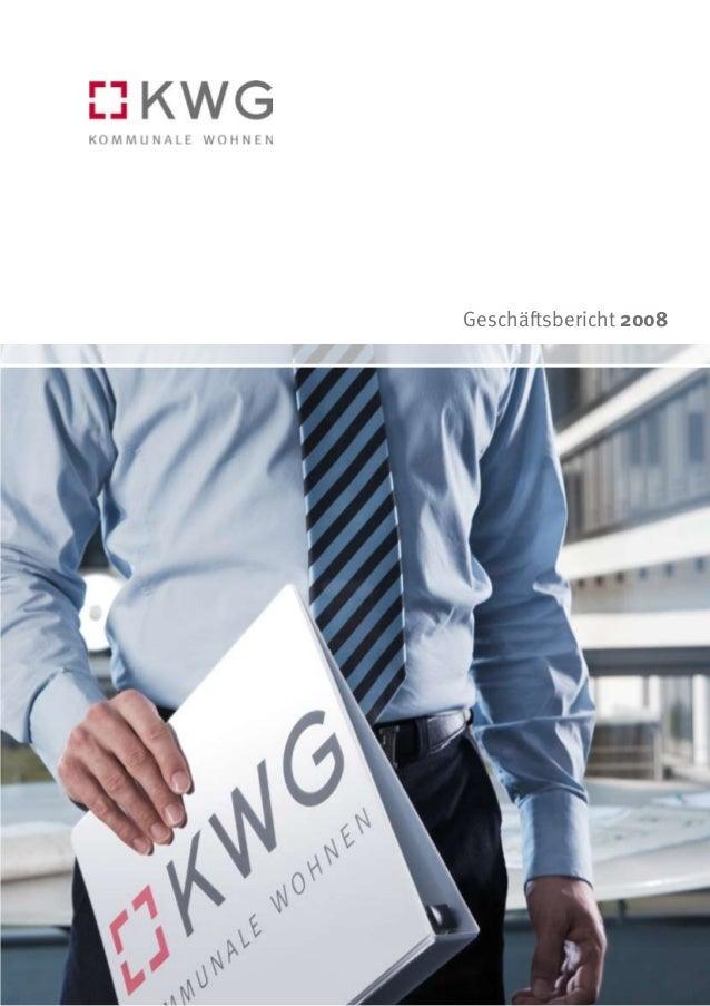KWG Geschäftsbericht 2008