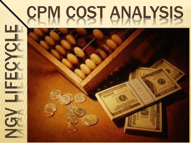 NGV LIFECYCLE   CPM COST ANALYSIS