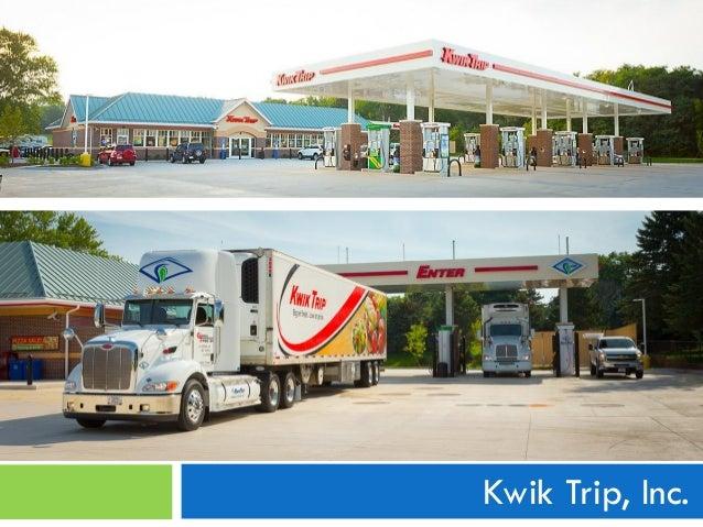 Future of Alternative Fuels in WI Showcase - Kwik Trip Presentation