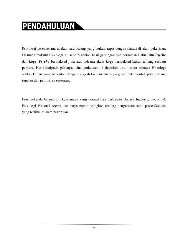 Contoh Surat Pengantar Tes Psikologi