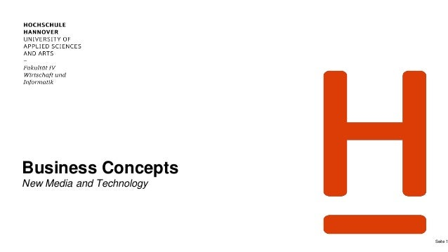 Business Concepts New Media and Technology Seite 1