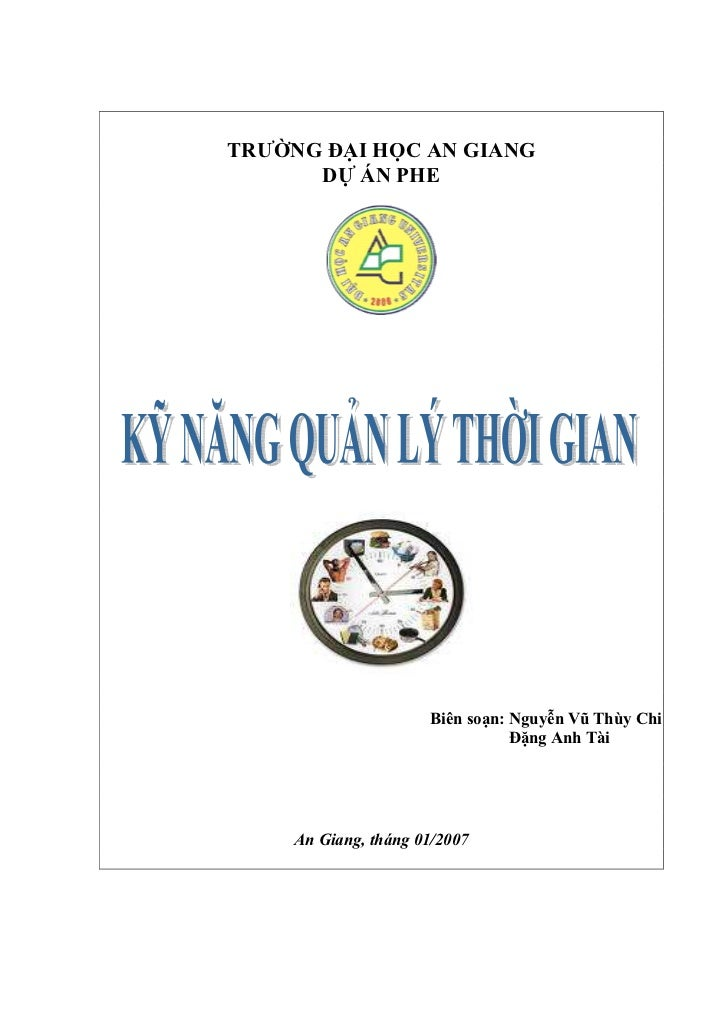 Ky Nang Quan Ly Thoi Gian