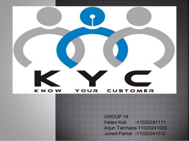 Kyc norms in banks