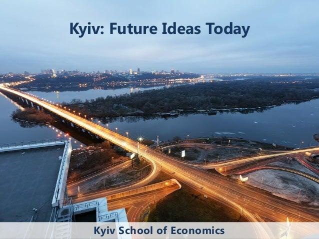 Kyiv. Future ideas today