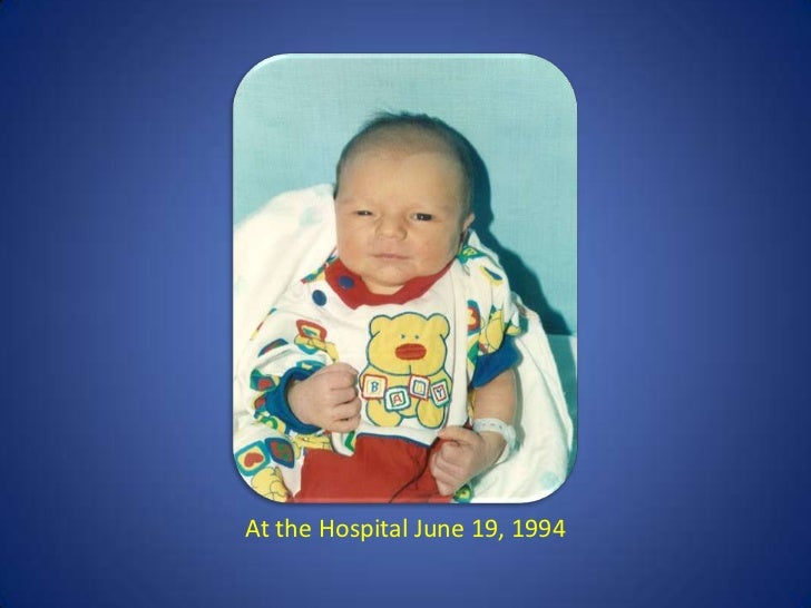 At the Hospital June 19, 1994<br />
