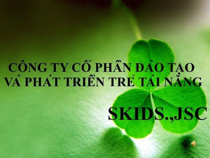 Ky Nang Song Cho Tre