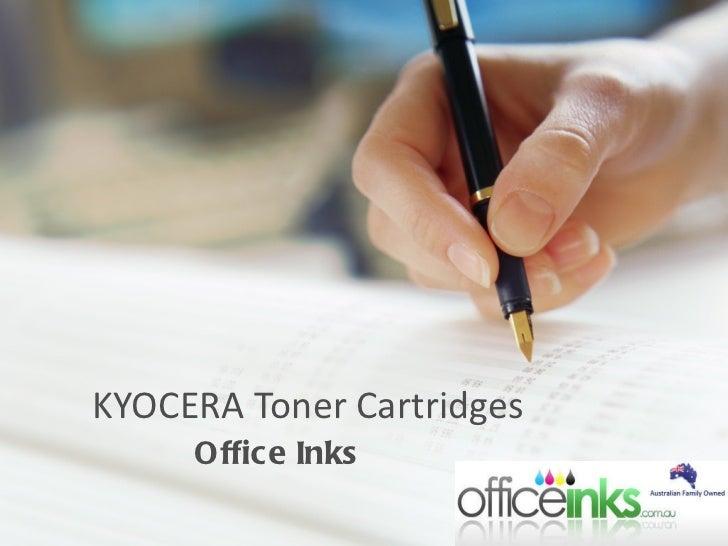 KYOCERA Toner Cartridges Office Inks