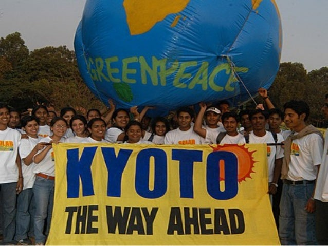 The Kyoto Protocol • The Kyoto Protocoltreatywasnegotiatedin December1997atthecityofKyoto,Japanand camein...