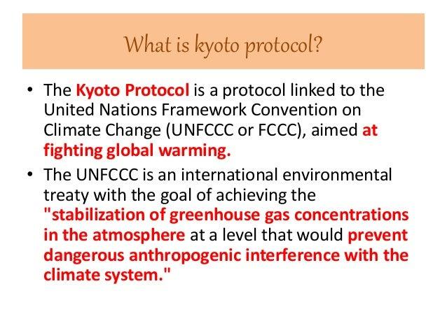 kyoto protocol amendment to the united