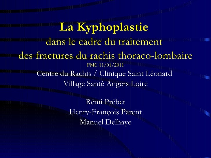 Kyphoplastie 11 01 11