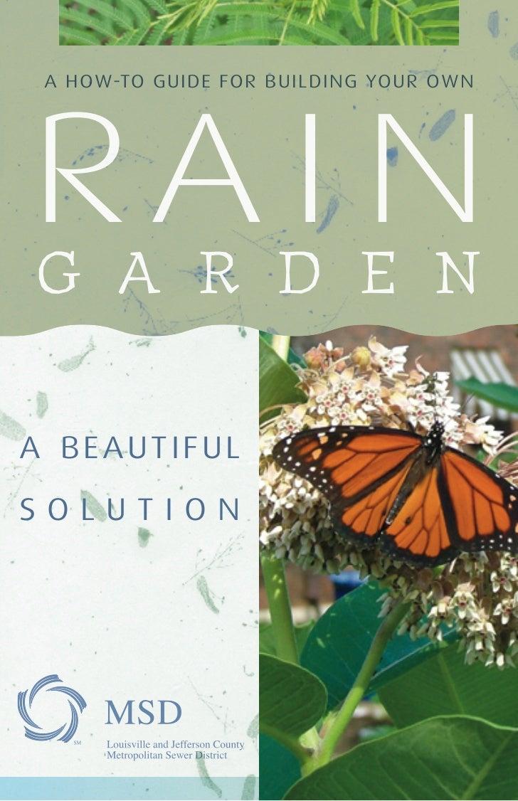 KY: Rain Garden: A Beautiful Solution