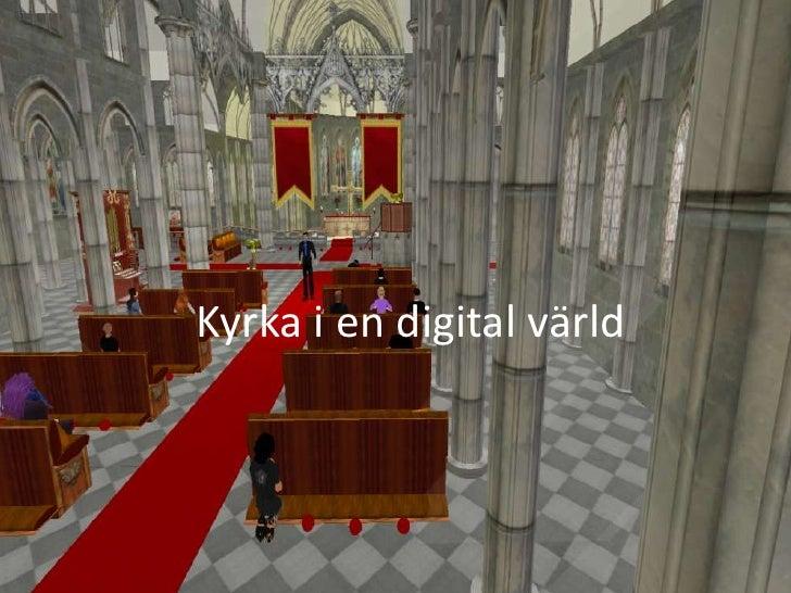 Kyrka i en digital värld<br />