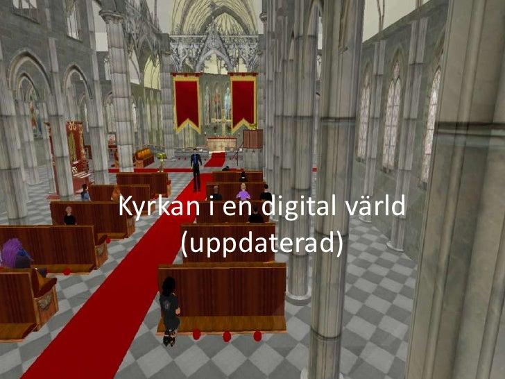 Kyrkan i en digital värld<br />(uppdaterad)<br />