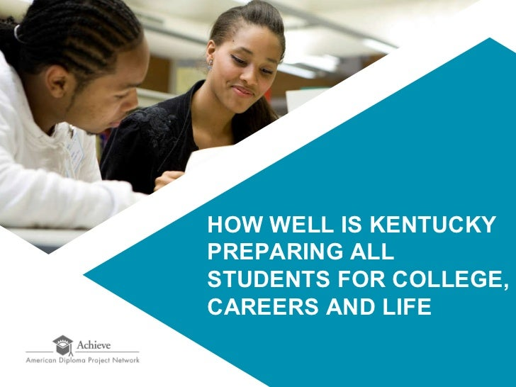 How Well is Kentucky Preparing all Students for College, Career, and Life