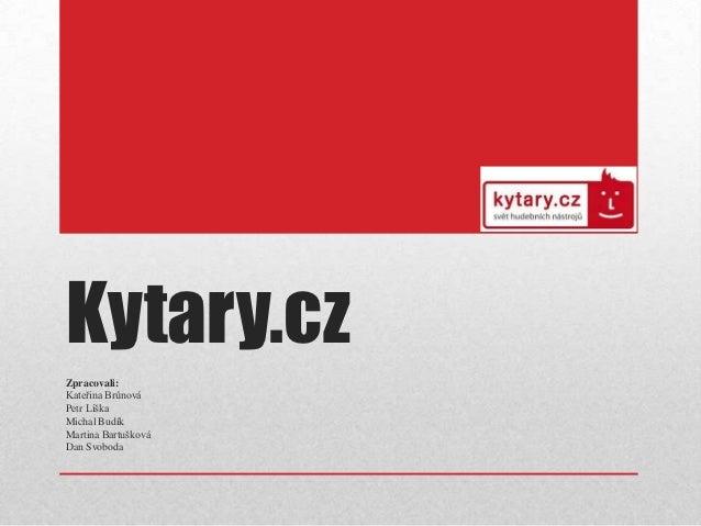 Kytary.cz - představení společnosti