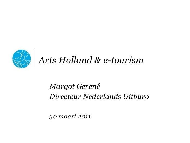 Margot Gerené - Nederlands Uitburo - Open Data