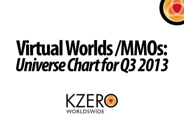VirtualWorlds/MMOs: UniverseChartforQ32013