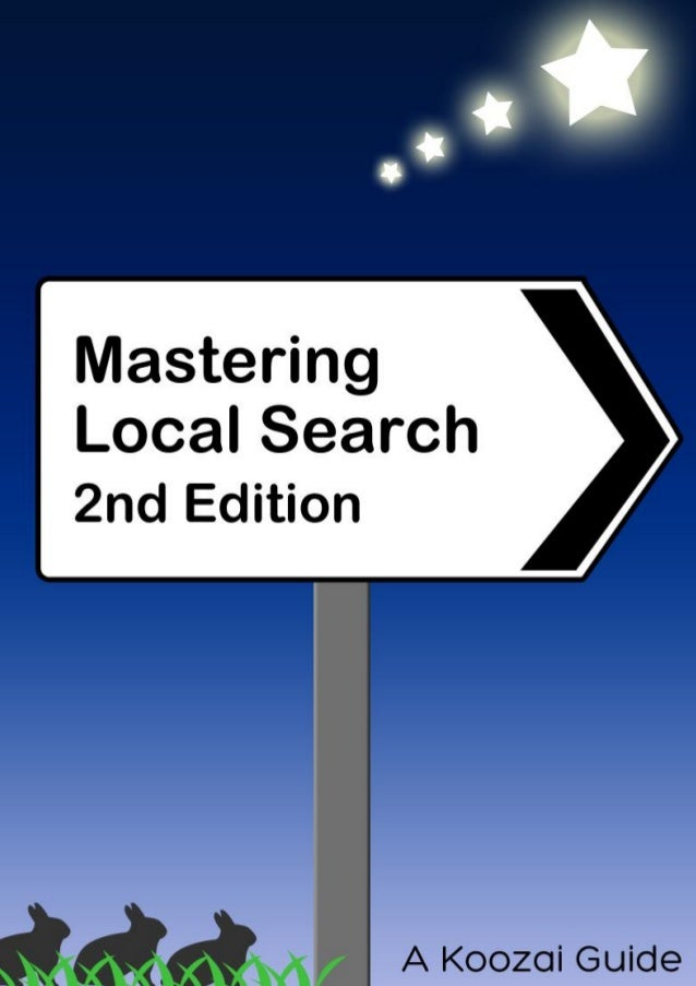 A Guide to Local Search (2nd Edition)About The Author: ......................................................................