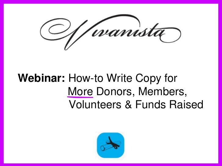 WerwerWerwerWerwerWebinar: How-to Write Copy for     More Donors, Members,Werwer     Volunteers & Funds RaisedWrewerCopywr...