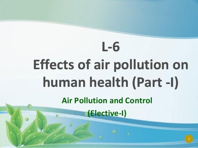 AIR POLLUTION CONTROL L 6