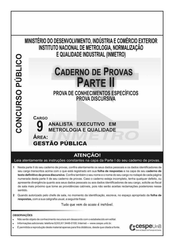 CONHECIMENTOS ESPECÍFICOS         A prefeitura de uma pequena cidade anunciou no jornal               Uma indústria de cos...