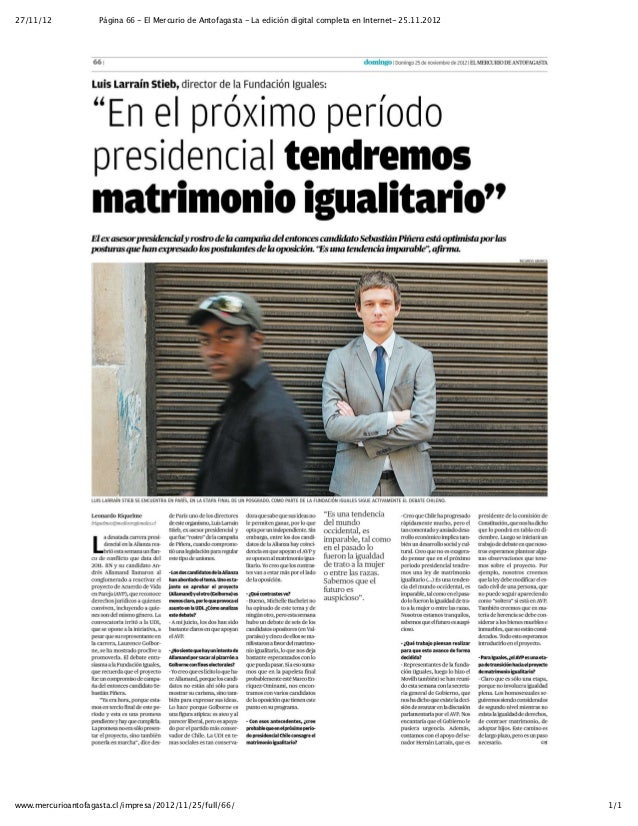 Entrevista a Luis Larraín   El Mercurio de antofagasta - la edición digital completa en internet- 25.11