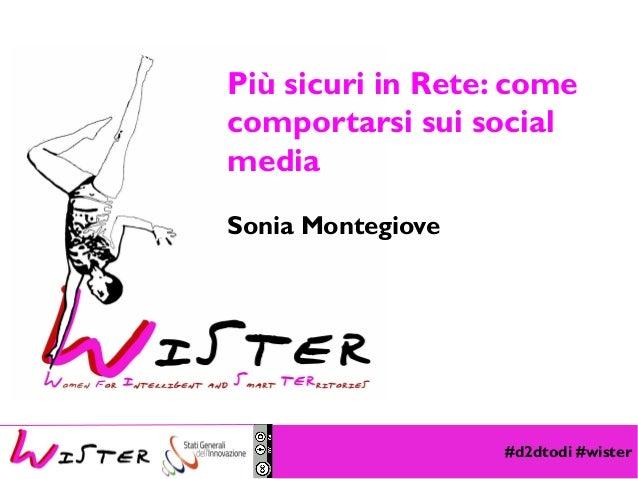 #d2dtodi #wister Foto di relax design, Flickr Più sicuri in Rete: come comportarsi sui social media Sonia Montegiove
