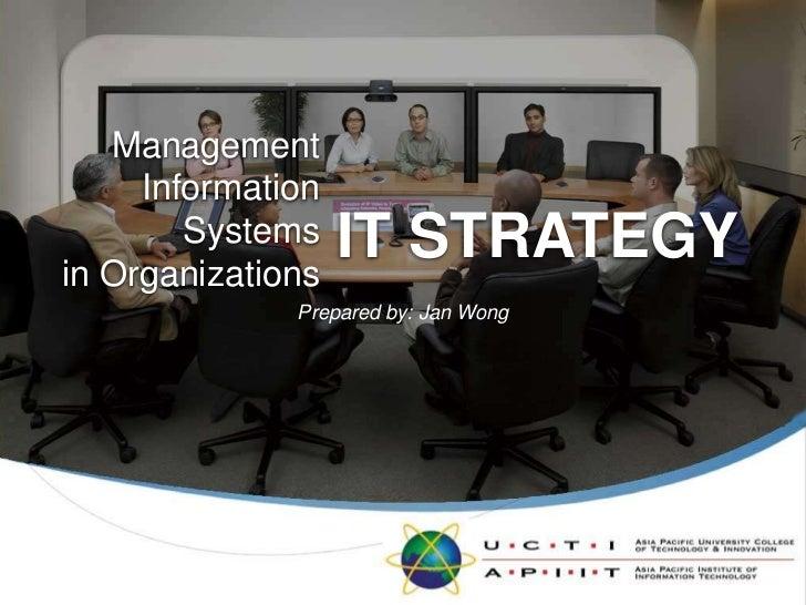 MISO L006 IT Strategy