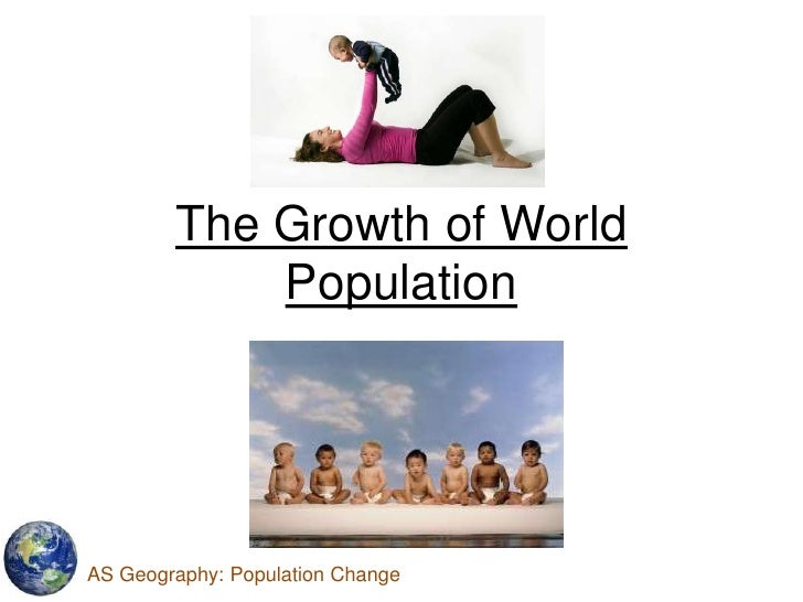 L01 2010 the growth of world population