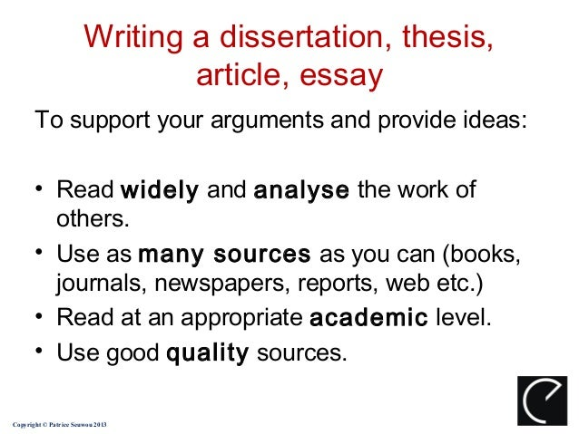 Harvard dissertation writing