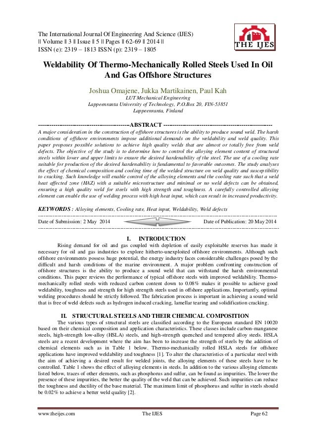 The International Journal Of Engineering And Science (IJES) || Volume || 3 || Issue || 5 || Pages || 62-69 || 2014 || ISSN...