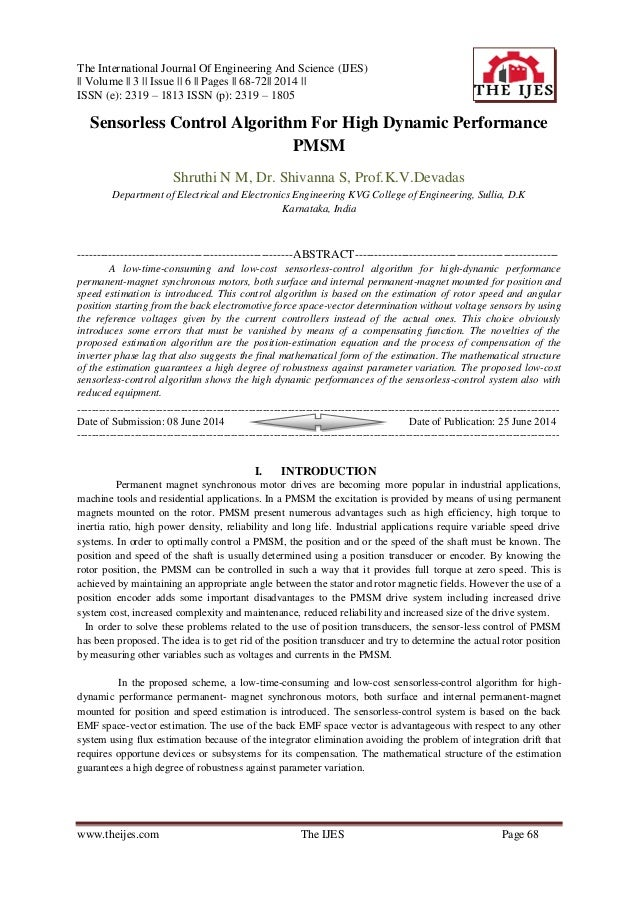 The International Journal Of Engineering And Science (IJES) || Volume || 3 || Issue || 6 || Pages || 68-72|| 2014 || ISSN ...