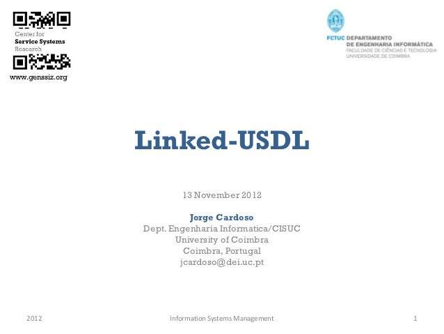 Linked USDL